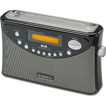 Roberts Gemini 45 DAB FM RDS Digital Radio - Black (discontinued by manufacturer)