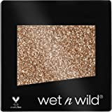 Wet n Wild - Color Icon Glitter Eyeshadow Single - Sombra de Ojos Brillante con una Fórmula Hidratante y Textura Sedosa, Glit