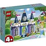 LEGO 43178 Disney Princess Cinderella's Castle Celebration Set with Animal Figures for Preschool 4 + Year Old Kids