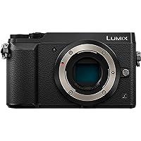 Panasonic LUMIX G DMC-GX80EG-K Systemkamera (16 Megapixel, Dual I.S. Bildstabilisator, flexibler Touchscreen, Sucher, 4K…