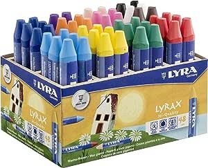 Lyra 5703480 Présentoir avec 48 crayons de couleur et Divers coloris