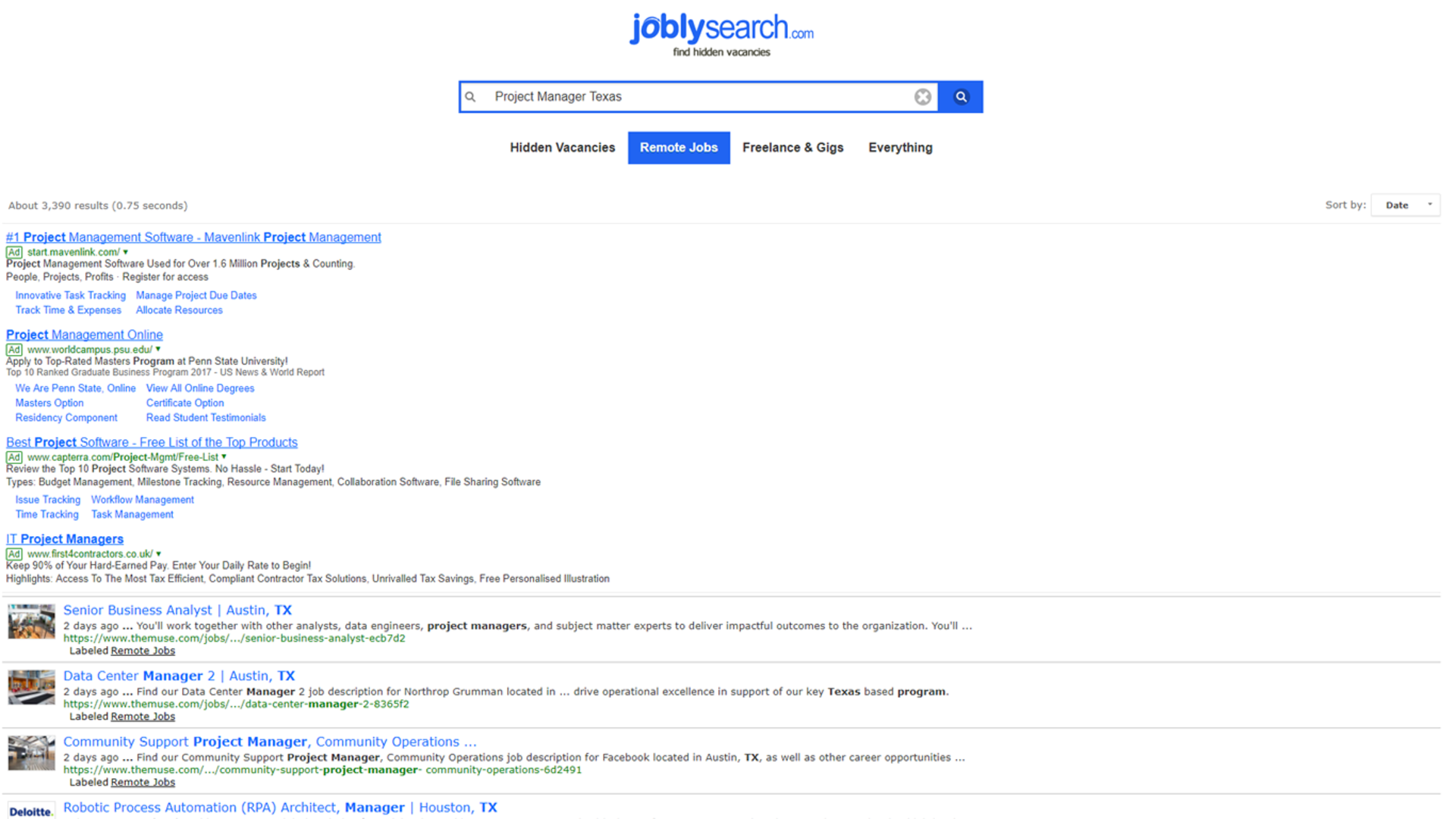 Search Unadvertised Jobs: Amazon co uk: Appstore for Android