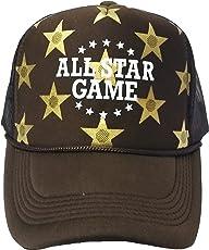 FRIENDSKART Men's Brown All Star Game Half Net Cap