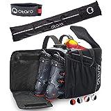 Otaro ® Premium skidväska med hjälmfack PRO - Innovativ rumslayout och högkvalitativt utförande - Stöd tyska nystartade föret