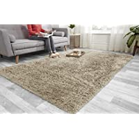 Super Soft FLUFFY Shaggy Rug Anti-Slip Carpet Mat Living Room Large Area Rugs Modern Floor Bedroom Extra Large Size Non…