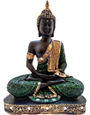 Global Grabbers Sitting Buddha Idol Statue Showpiece