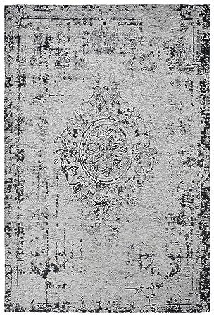 Shabby Teppich teppich grau gelb teppich grau handgewoben x justin grau