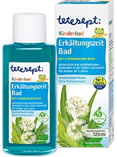 Sanfte Reinigung ohne Ziepen oder Tr/änen 1 x 200 ml f/ür Kinder ab 3 Jahren tetesept Kinder Duschspa/ß Capt/'n Sharky