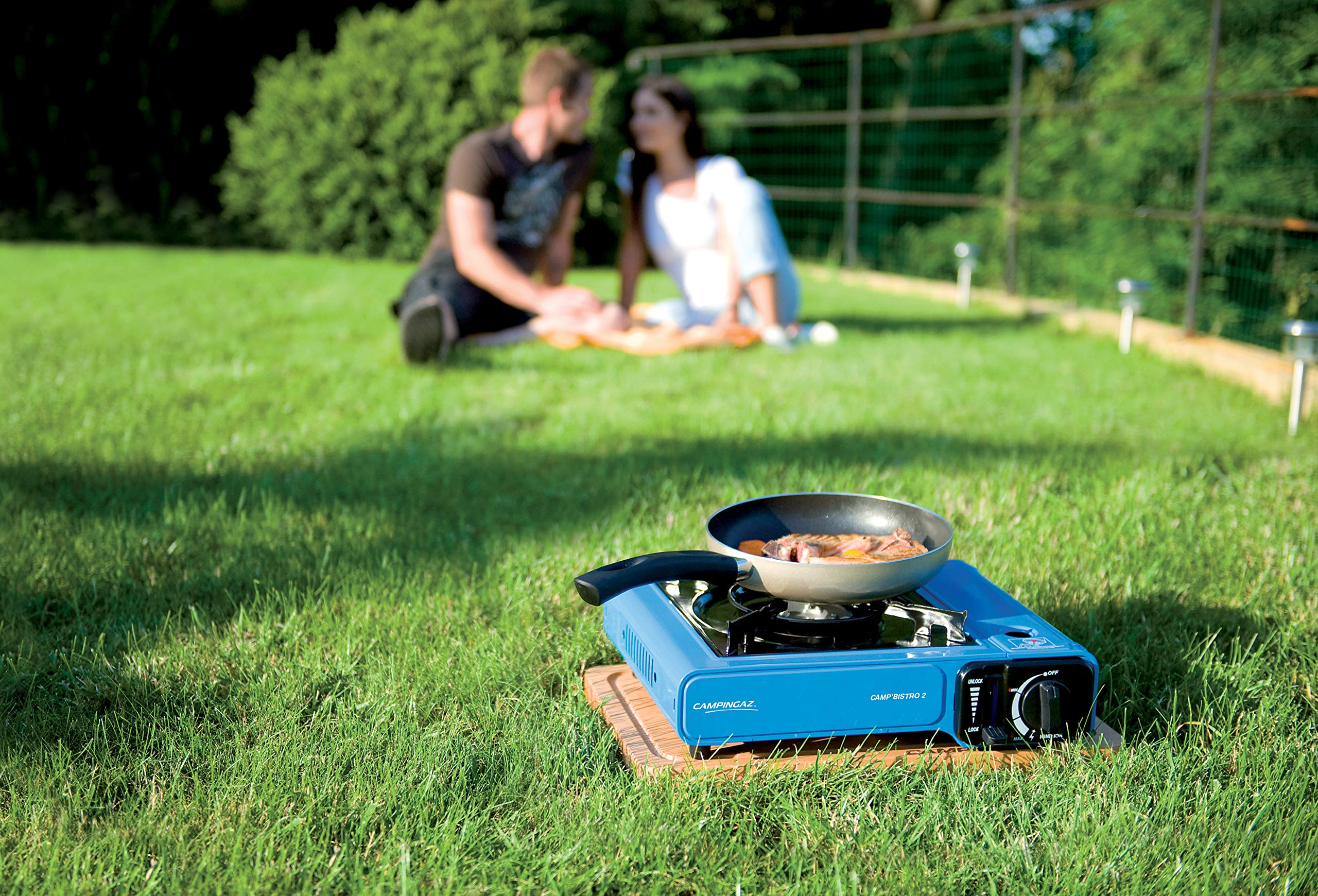 Campingaz Camp Bistro 2, Camping Stove, Portable Gas Cooker for Camping or Festivals, Easy Handling 2
