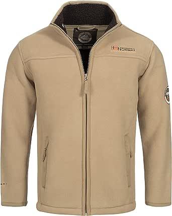 Geographical Norway ULMAIRE Men's Fleece Jacket Fleece Jacket Warm Teddy Fur Lining Size S - XXXL.