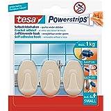 Tesa PowerStrips Haken Large Ovaal, 3 stuks beige