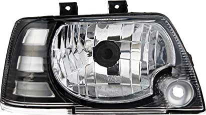 UNO MINDA HL-55015 Headlight Assembly without Wire for Maruti 800 Type 3