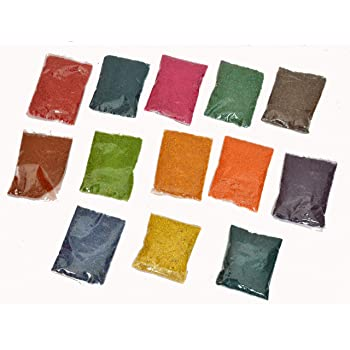 Sobhagya Rangoli Colours (Multicolour)-Pack of 13