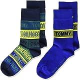 Tommy Hilfiger Branded Stripe Kids' Socks Calzino Classico Unisex-Bambini