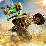 Stunt Extreme Man Down Hill springen Festessen Abenteuer 3D: Atv Hill Climbing Racing Simulator...