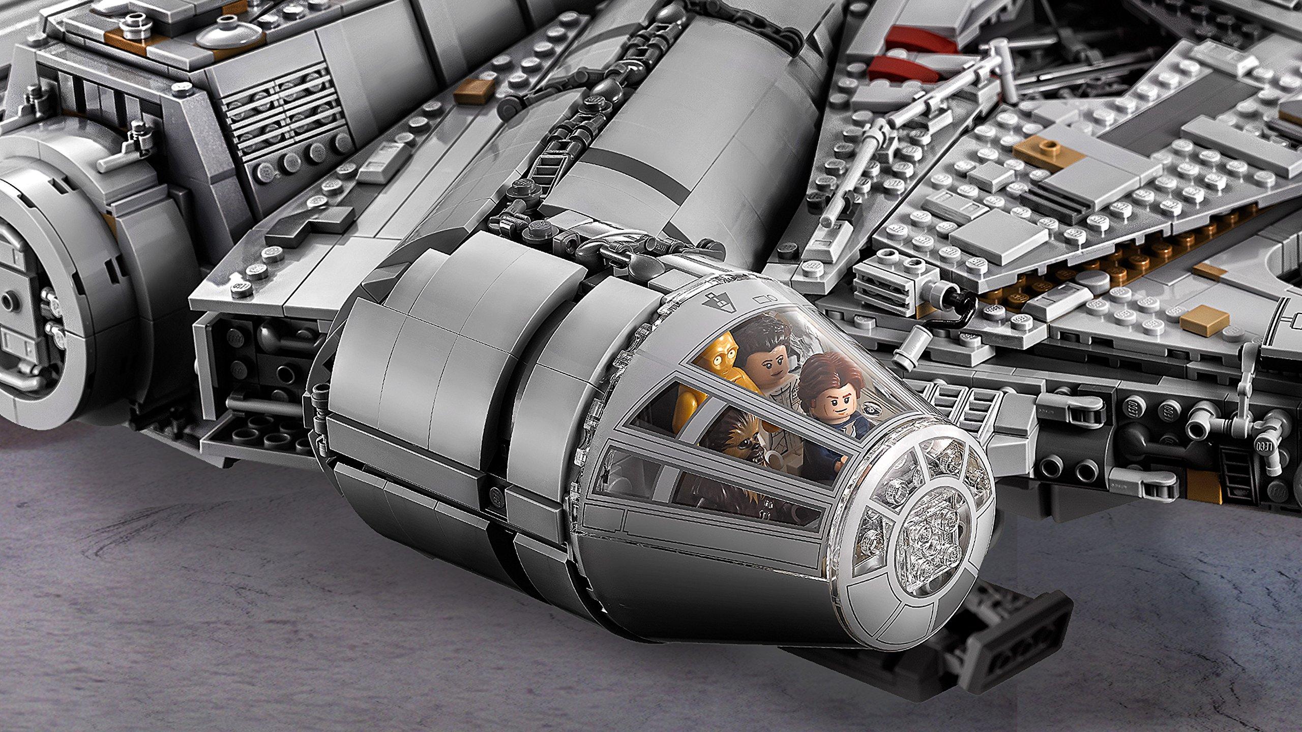 LEGO Millennium Falcon Costruzioni Piccole Gioco Bambina Giocattolo 140, Multicolore, 5702015869935 5 spesavip