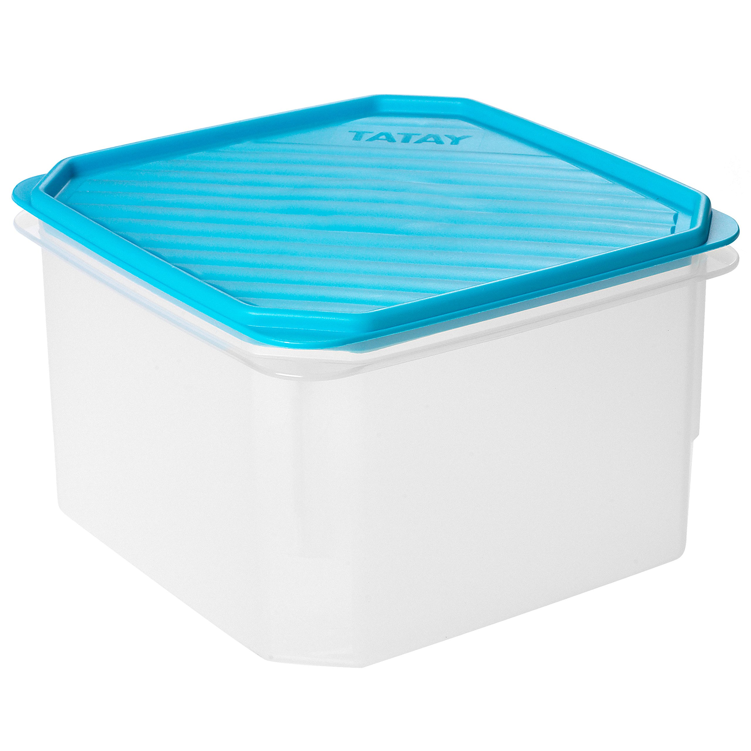 TATAY–Caja de conservación cuadrada 2,9L 18,5x 18,5x 12,3cm, plástico