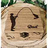 Personalised Fishing Gift Box Tackle Box Dad Gift Father's Day Grandad Brother Christmas Gift Fishing Lover Present Any…