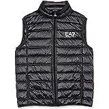 Emporio Armani EA7 Core Logo Zip Down Vest Black