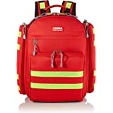 GiMa logic-1 ryggsäck, 40 cm l x 20 cm B x 47 cm H, röd, nödfall, trauma, resue, medical, första hjälpen, sjuksköterska, mult