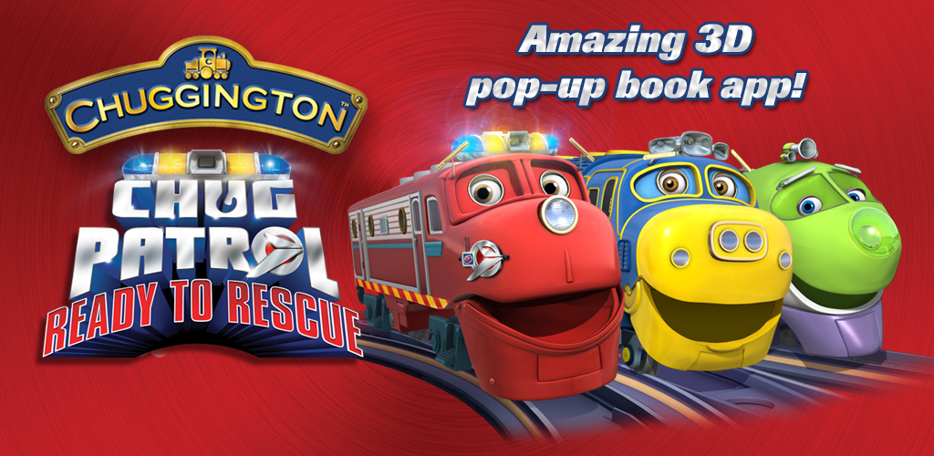 Image of Chug Patrol: Ready to Rescue Free ~ Chuggington Interactive Pop-up Book