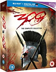 300 & 300: Rise of an Empire - 2 Movies Collection: Full Versions (Blu-ray + Digital HD + UV) (2-Disc Box Set)