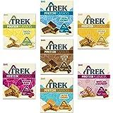 Trek Protein Flapjack Mixed Case Selection - Glutenvrij, Zuivelvrij (Pack van 21 Bars)