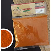My Village Red Chilli Powder (Hot) / 100% Natural and Organic Chili Powder (Without stem). (900gm)
