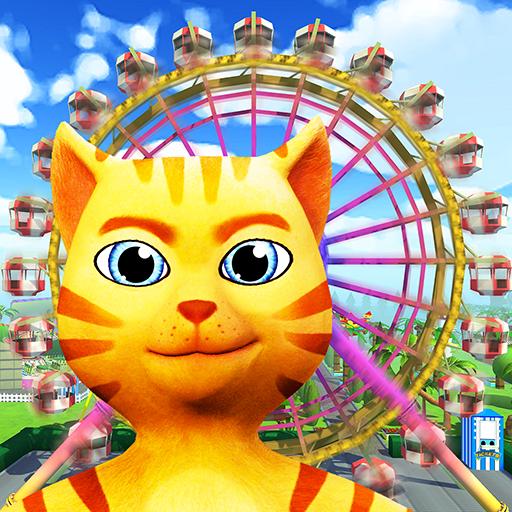 Cat Theme & Amusement Park Fun (Cat Roller)