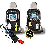 Protezione Sedile Auto Bambini Coprisedile Universale Auto 2 Pack novità 2020 Proteggi Sedili Auto Bambini Porta Tablet Auto
