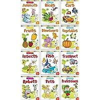 Colouring Books Boxset: Pack of 12 Copy Colour Books for Children
