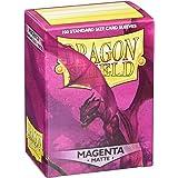 Dragon Shield- Bustine per Carte, Colore Magenta, 1
