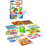 Ravensburger 24721 – Kom in, vi köper en! – Pedagogiskt spel för de små – sorteringsspel för barn från 2 år, spela första lär