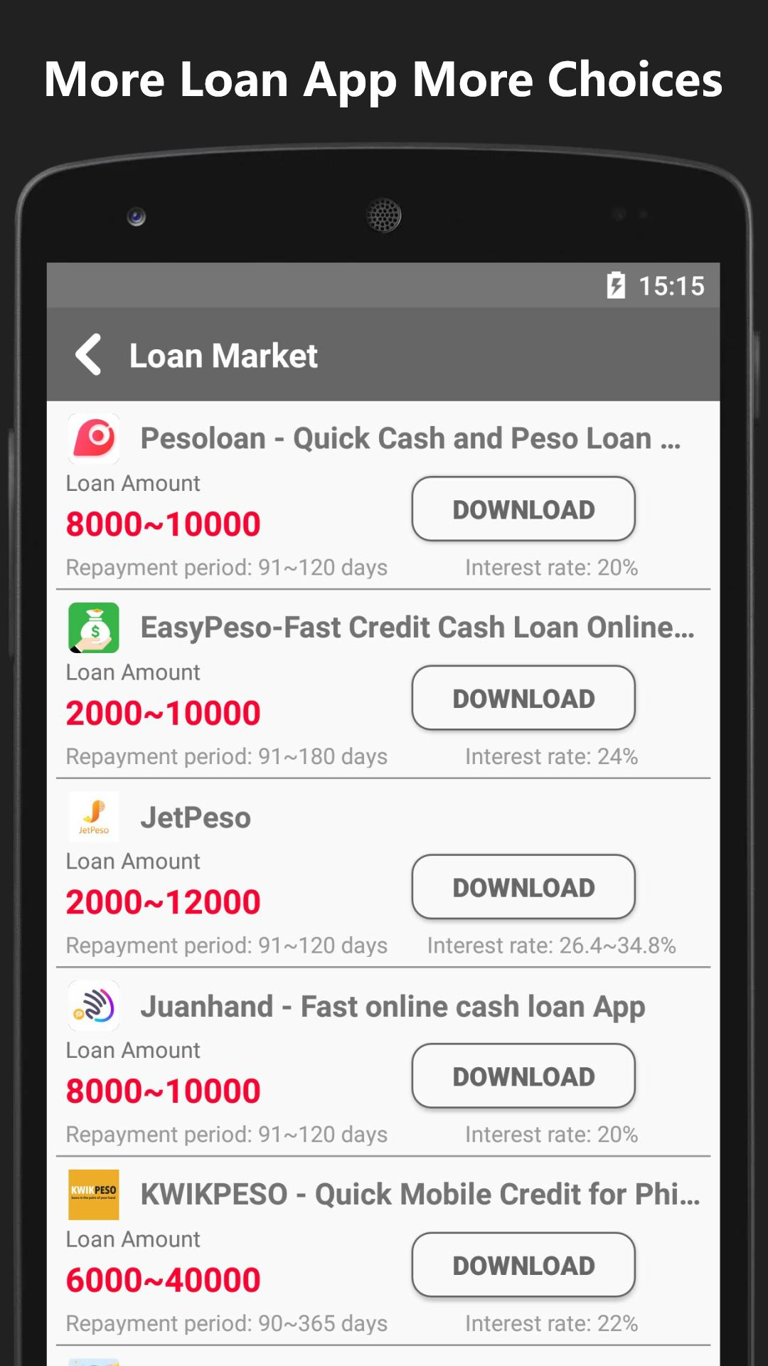 Cash Loan Market - Fast Online Credit Payday Loans : Amazon.de
