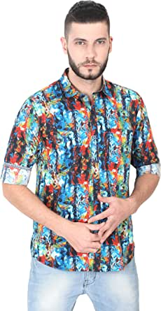 GUNIAA Digital Printed Multi Colour Shirts