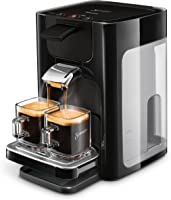 Philips Senseo Quadrante HD7865/60 Kaffeepadmaschine (XL-Wassertank) schwarz