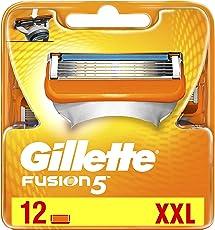 Gillette Fusion Rasierklingen für Männer, 12Stück