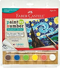 Faber-Castell Paint by Number Museum Series - The Starry Night Painting Set