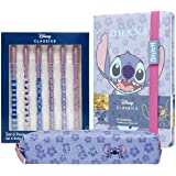 Disney Stationary Supplies, Stitch Stationary Sets, Cute Stationary For Girls, Stitch Gifts