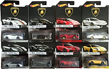 Hot Wheels Lamborghini Limited Edtion Cars - Set Of 8 - Multi Color