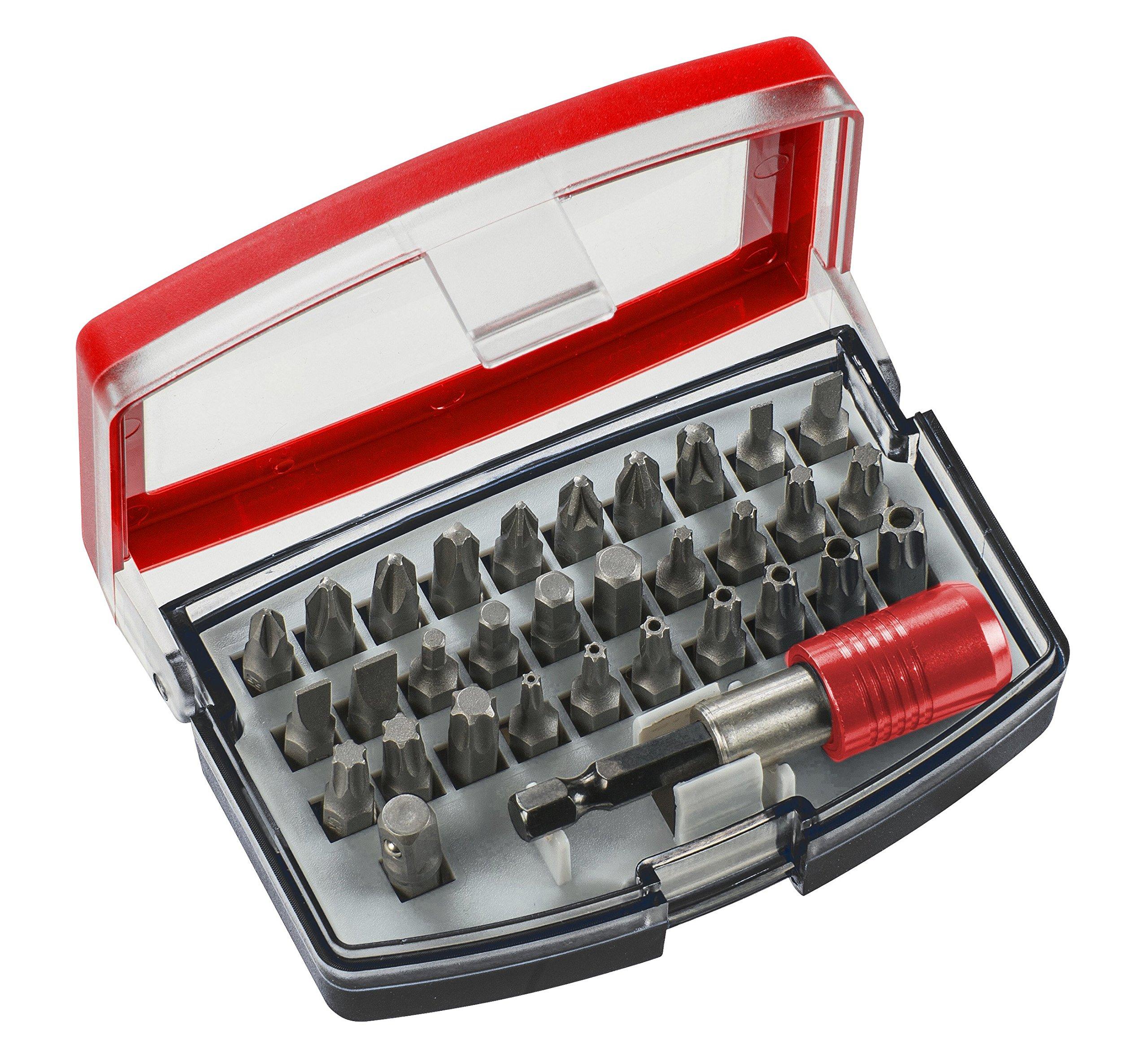 91L38wSfE3L - KWB GERMANY GMBH 118490 - Bit box con puntas de 32 piezas, acero al cromo-vanadio