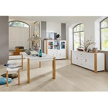 komplett set esszimmerm bel esszimmer m bel speisezimmer sideboard highboard tisch bank. Black Bedroom Furniture Sets. Home Design Ideas