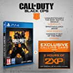 Call of Duty : Black Ops 4 with 2 Hours of 2XP + an Exclusive Calling Card (Exclusive to Amazon.co.uk) (PS4)
