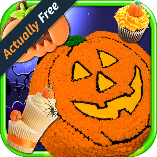 Halloween Cake Maker – Make & Bake Kids Candy Dessert Kitchen Cooking Food Restaurant FREE - Für Frosting Cupcakes Halloween