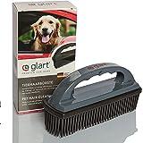 Glart 44THB Premium Dog Brush Pet Hair Brush Removes Pet Hair and Dirt From All Car Seats, Cushions, Carpets