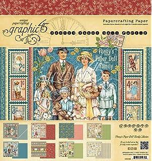 Graphic 45/Kalender Pad 12/Zoll x 12/Zoll 2/Kinder Stunde