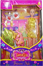 Kotak Sales Charm Girl Princess Barbie Celebration Style Doll Set Dress Fashion Accessories Kit for Girl Kids (3+ Years)