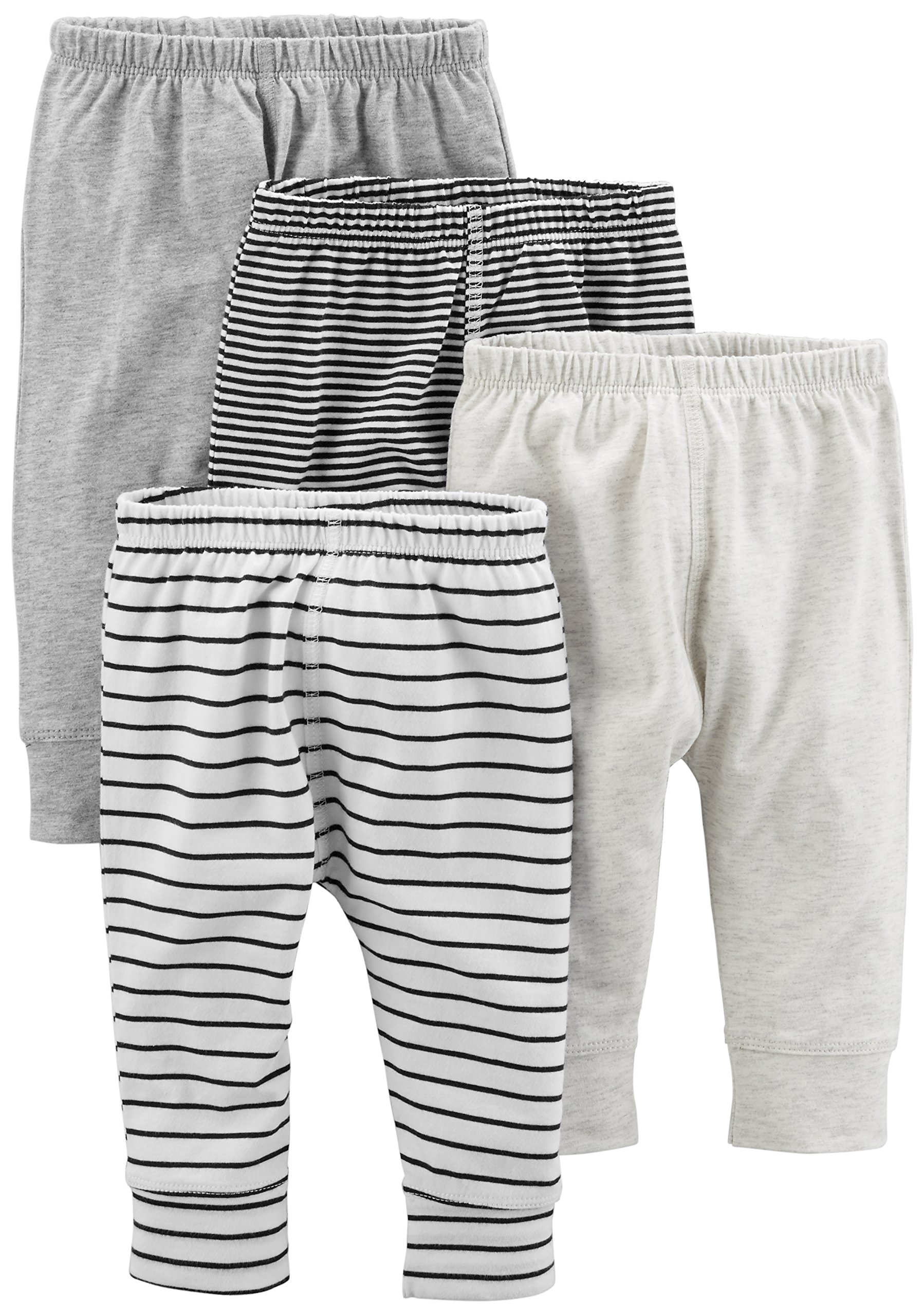 Simple Joys by Carter's Baby paquete de 4 pantalones 1