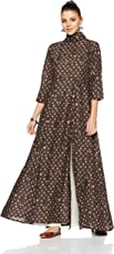 Nayo Women's A Line Salwar Suit Set (Pack of 2)