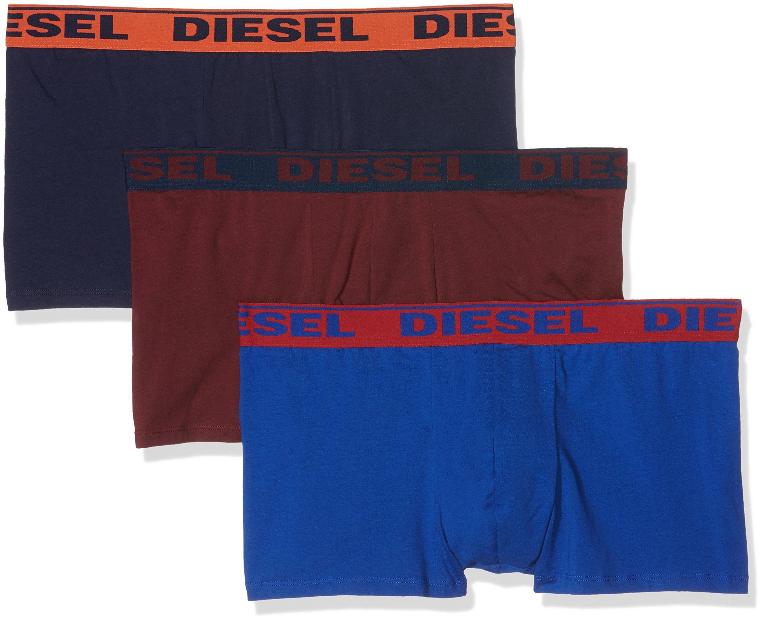 Diesel Umbx-Shawnthree-Pack, Boxer Uomo, Multicolore (Multicolor 24), Medium